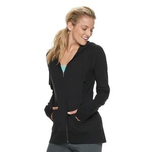 Women's Tek Gear Thumb hole Zip-up Jacket